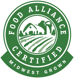 Food Alliance Certified, Midwest Grown Logo