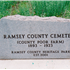 The Ramsey County Poor Farm Cemetery