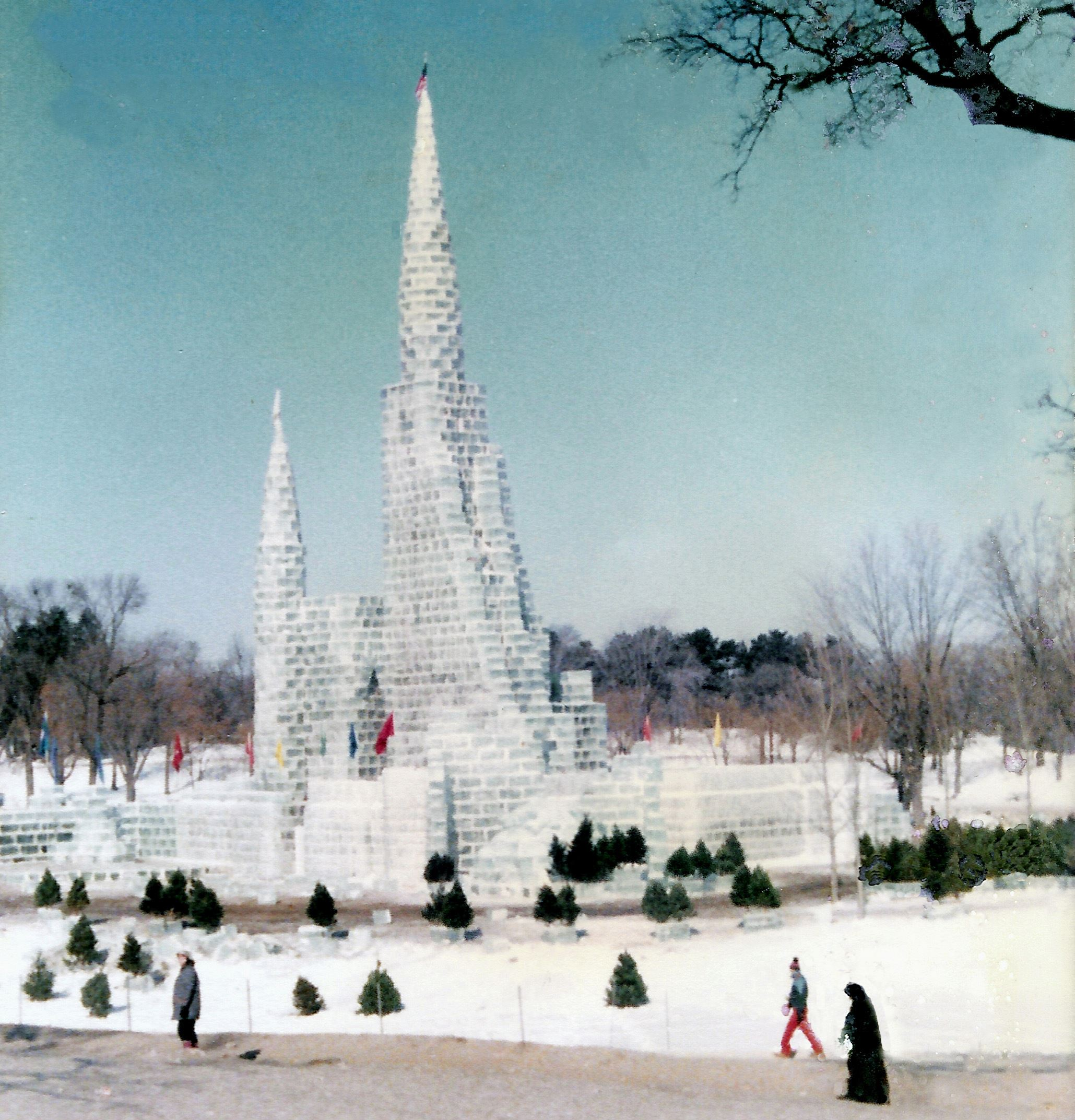 Lake Phalen, the Ice Palace, and the Winter Carniv