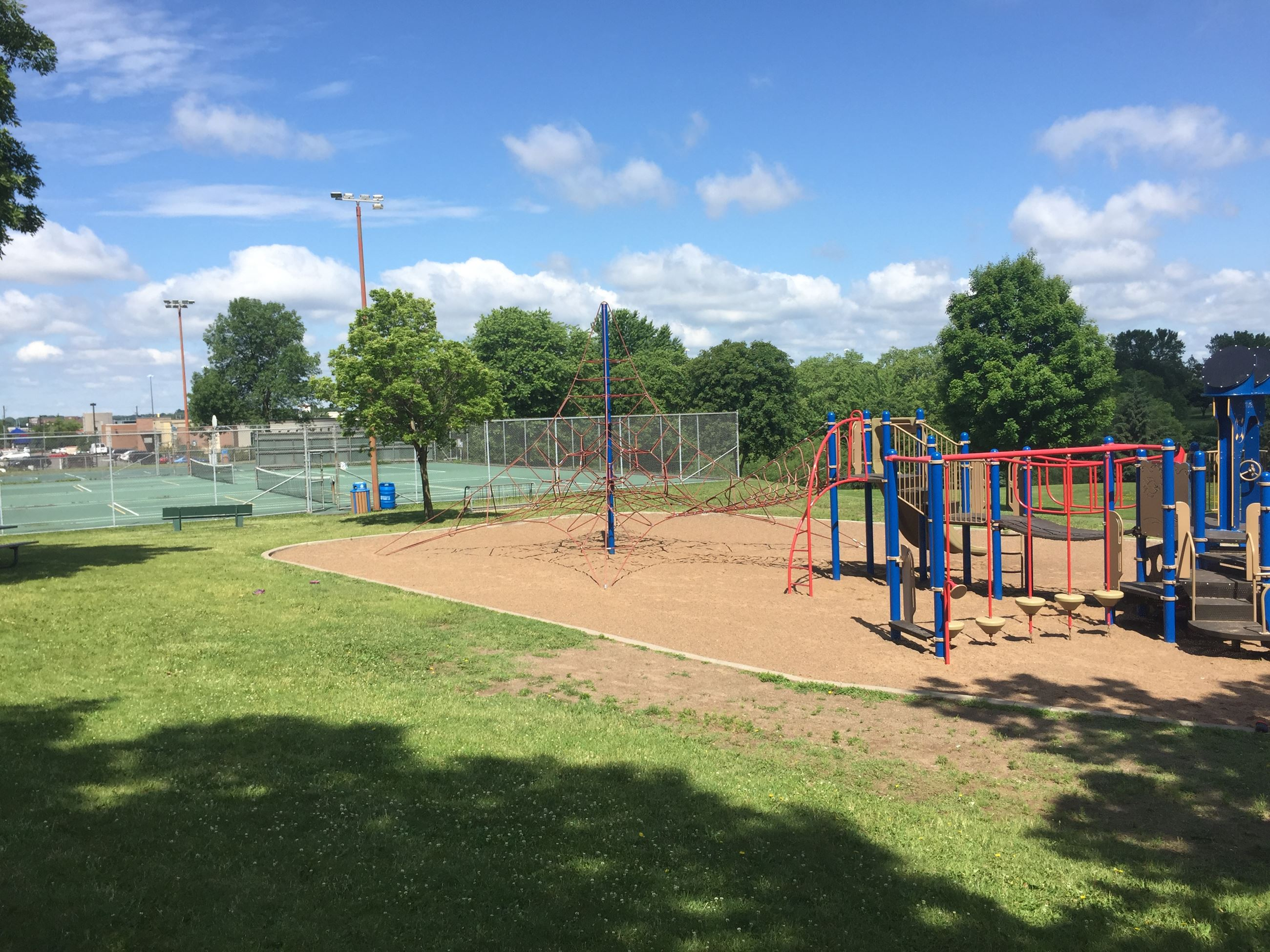 Maplewood Heights Playground and Tennis Courts