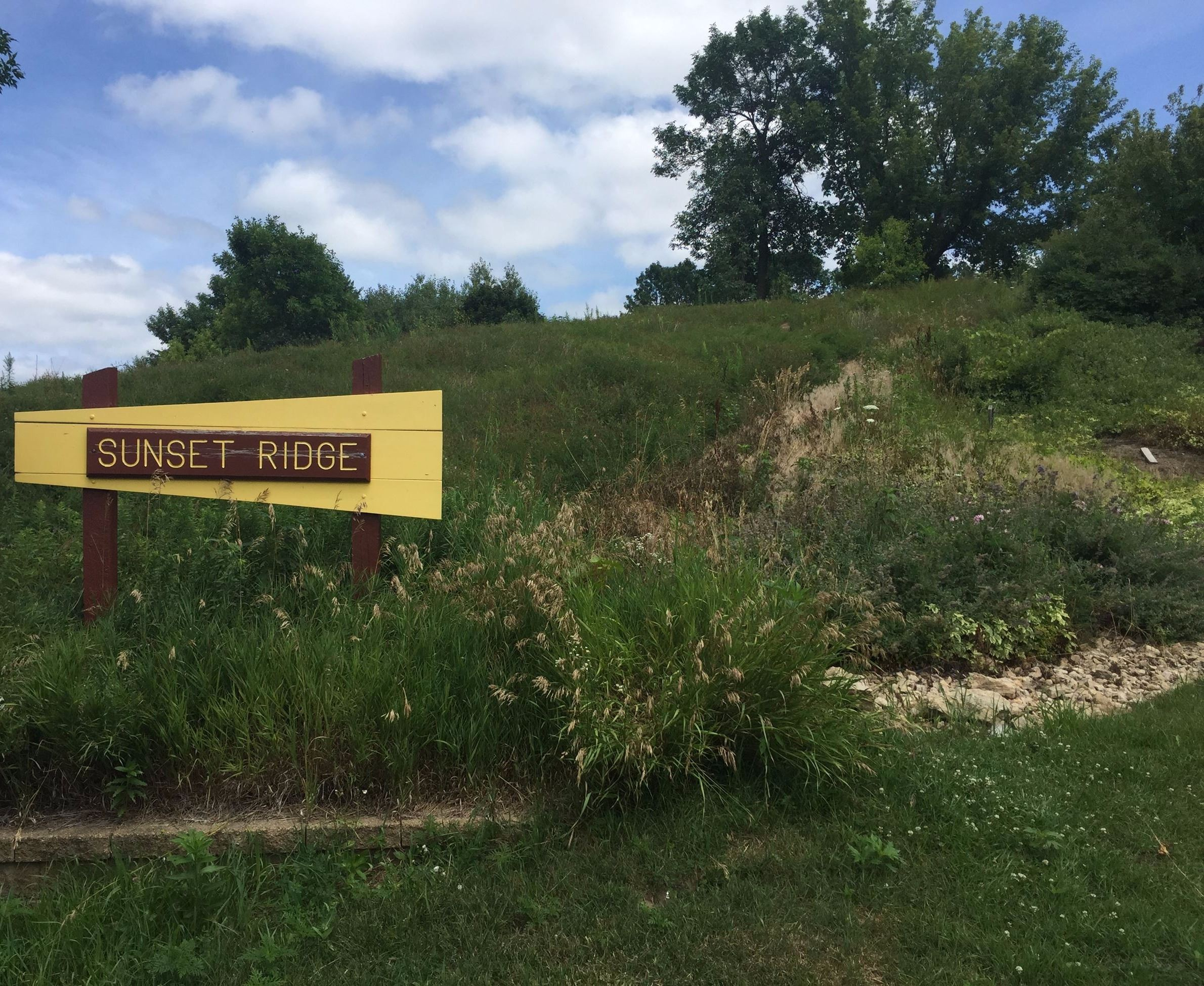 Sunset Ridge Park Sign