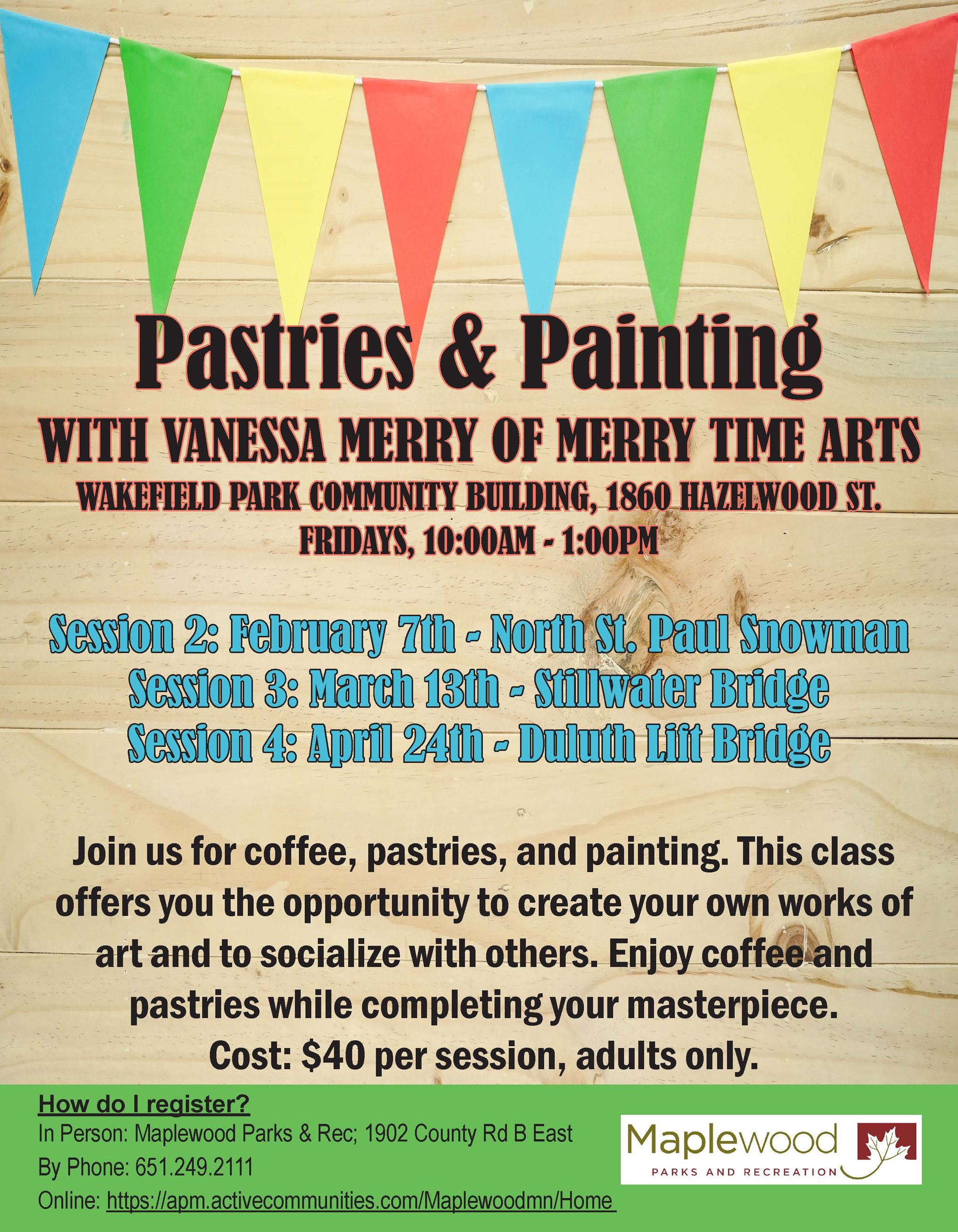 Pastries & Painting-winter