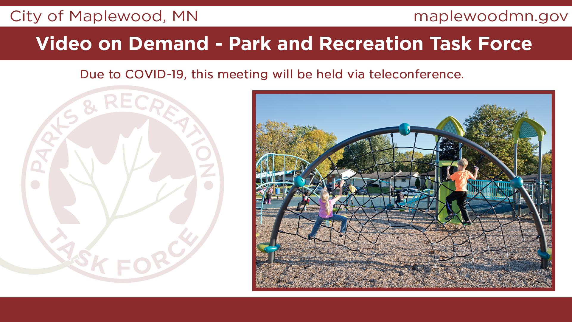 Park and Recreation Task Force
