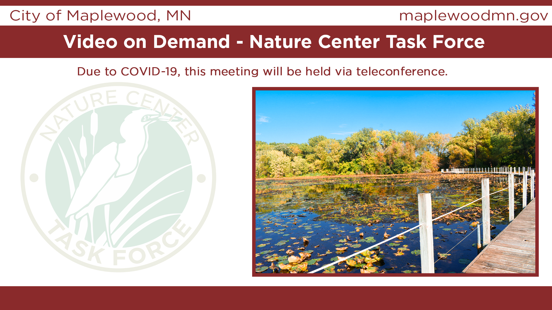 Nature Center Task Force