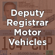 Deputy Registrar Motor Vehicles