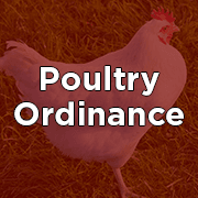 Poultry Ordinance Button